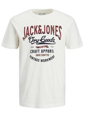 Jack&Jones Jack&Jones T-shirt Denim Logo 12183199 Beige Regular Fit