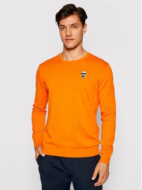 KARL LAGERFELD KARL LAGERFELD Sweater 655008 511398 Narancssárga Regular Fit