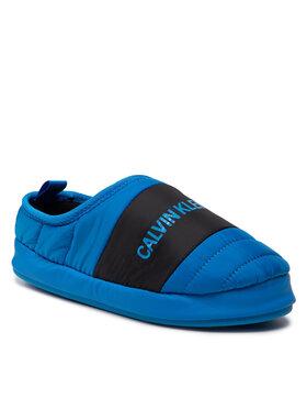 Calvin Klein Jeans Calvin Klein Jeans Bačkory Home Shoe Slipper YM0YM00303 Modrá