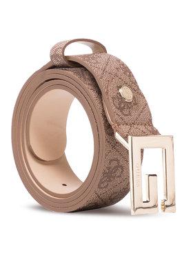 Guess Guess Dámský pásek Brighside Belts BW7417 VIN35 Hnědá