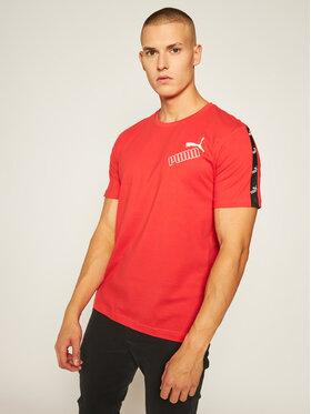 Puma Puma T-Shirt Amplified 583510 Czerwony Regular Fit