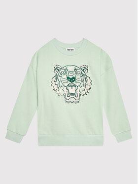 Kenzo Kids Kenzo Kids Суитшърт K15146 Зелен Regular Fit