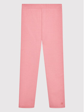 United Colors Of Benetton United Colors Of Benetton Legginsy 35Q2I0148 Różowy Slim Fit
