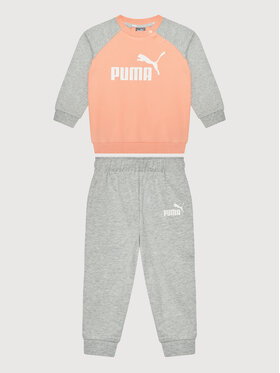 Puma Puma Sportinis kostiumas Minicats Ess Raglan Jogger 584861 Oranžinė Regular Fit