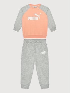 Puma Puma Tepláková souprava Minicats Ess Raglan Jogger 584861 Oranžová Regular Fit