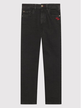 United Colors Of Benetton United Colors Of Benetton Jeansy 4DMT57PM0 Czarny Slim Fit