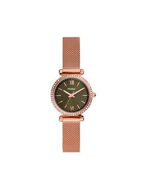Fossil Fossil Zegarek Carlie Mini ES4957 Różowy