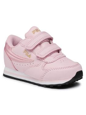 Fila Fila Sportcipő Orbit Velcro Infants 1011080 Rózsaszín
