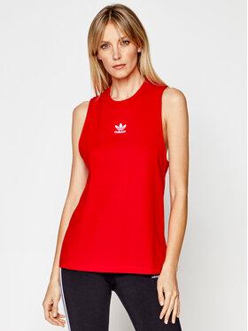adidas adidas Marškinėliai adicolor Classics GN2889 Raudona Regular Fit