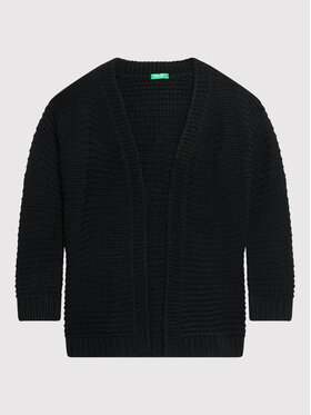 United Colors Of Benetton United Colors Of Benetton Ζακέτα 1087C6316 Μαύρο Regular Fit