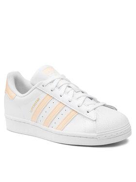 adidas adidas Chaussures Superstar H00128 Blanc