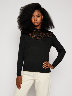 Desigual Desigual Sweater Ginebra 20WWJF83 Fekete Regular Fit