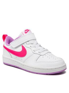 Nike Nike Buty Court Borough Low 2 (Psv)BQ5451 111 Biały