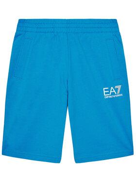 EA7 Emporio Armani EA7 Emporio Armani Pantaloni scurți sport 3KBS51 BJ05Z 1523 Albastru Regular Fit