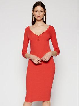 Elisabetta Franchi Elisabetta Franchi Trikotažinė suknelė AM-54B-11E2-V260 Rožinė Slim Fit