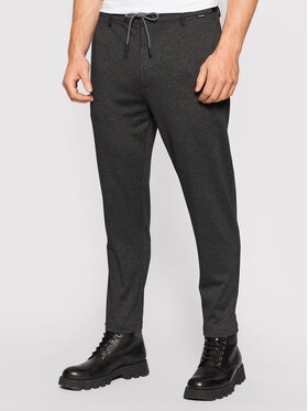 Calvin Klein Calvin Klein Stoffhose Comfort K10K107493 Grau Tapered Fit