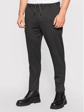 Calvin Klein Calvin Klein Текстилни панталони Comfort K10K107493 Сив Tapered Fit