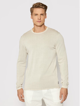 Only & Sons Only & Sons Pulover Garson 22006806 Bej Slim Fit