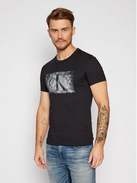 Calvin Klein Jeans Calvin Klein Jeans Tricou J30J316733 Negru Regular Fit