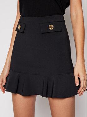 Elisabetta Franchi Elisabetta Franchi Trapez suknja G0-462-11E2-V220 Crna Regular Fit