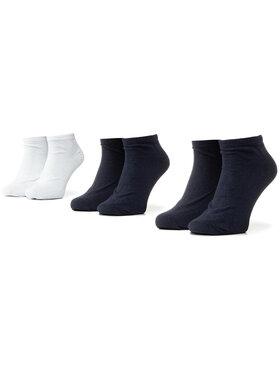 Kappa Kappa Lot de 3 paires de chaussettes basses unisexe Sonor 704275 Bleu marine