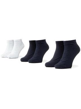 Kappa Kappa Sada 3 párů nízkých ponožek unisex Sonor 704275 Tmavomodrá