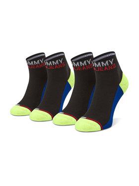 Tommy Jeans Tommy Jeans 2er-Set niedrige Unisex-Socken 100000399 Schwarz