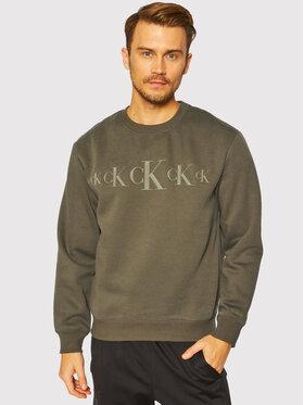 Calvin Klein Jeans Calvin Klein Jeans Džemperis J30J316520 Žalia Regular Fit