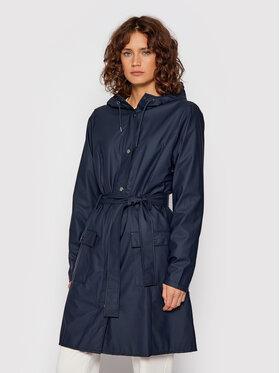 Rains Rains Veste imperméable Curve 1206 Bleu marine Slim Fit