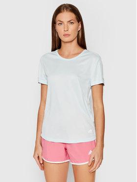 adidas adidas T-Shirt Run It H31028 Zielony Regular Fit