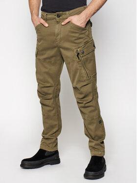 G-Star Raw G-Star Raw Παντελόνι υφασμάτινο Roxic D14515-C096-C249 Πράσινο Straight Tapered
