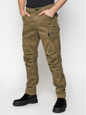 G-Star Raw G-Star Raw Текстилни панталони Roxic D14515-C096-C249 Зелен Straight Tapered