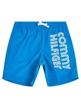 TOMMY HILFIGER TOMMY HILFIGER Plavecké šortky Medium Drawstring UB0UB00273C24 Modrá Regular Fit