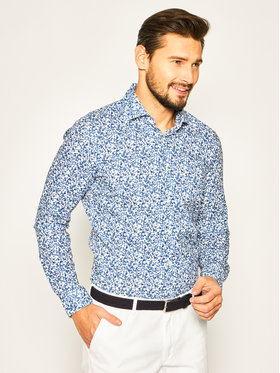 Strellson Strellson Marškiniai Sereno 30020162 Mėlyna Slim Fit