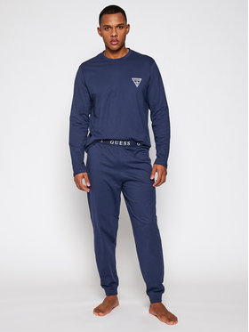 Guess Guess Pijama U0BX00 K8HM0 Bleumarin Regular Fit