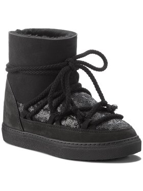 Inuikii Inuikii Boty Sneaker Sequin 70202-7 Černá
