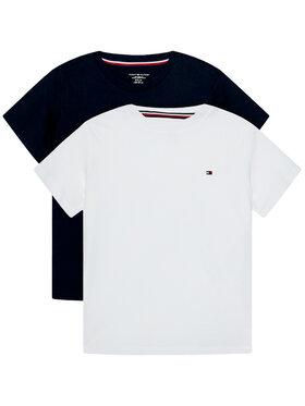 Tommy Hilfiger Tommy Hilfiger Komplet 2 t-shirtów Cn Tee Ss UB0UB00310 Kolorowy Regular Fit