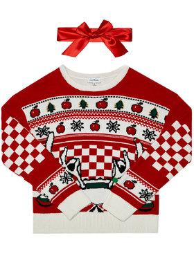 Little Marc Jacobs Little Marc Jacobs Пуловер W15529 D Червен Regular Fit