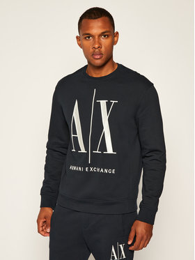 Armani Exchange Armani Exchange Sweatshirt 8NZMPA ZJ1ZZ 1510 Dunkelblau Regular Fit