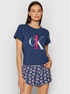 Calvin Klein Underwear Calvin Klein Underwear Piżama 000QS6443E Granatowy