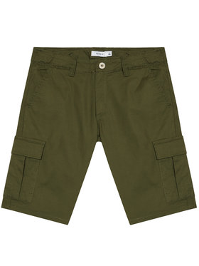 NAME IT NAME IT Bavlnené šortky Ryan 13185218 Zelená Regular Fit