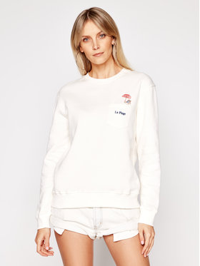 Drivemebikini Drivemebikini Sweatshirt La Plage 2019-DRV-010_EC Beige Regular Fit