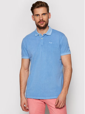 Pepe Jeans Pepe Jeans Polo Vincent Gd PM541225 Blu Slim Fit