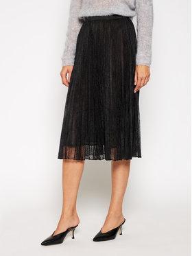 Marella Marella Spódnica plisowana Emanuel 37760106 Czarny Regular Fit