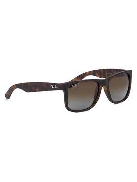Ray-Ban Ray-Ban Slnečné okuliare Justin 0RB4165 865/T5 Hnedá