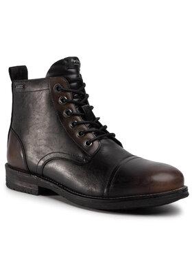 Pepe Jeans Pepe Jeans Outdoorová obuv Tom Cut Med Factor PMS50176 Čierna