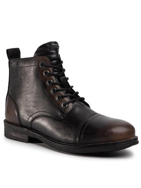 Pepe Jeans Pepe Jeans Trappers Tom Cut Med Factor PMS50176 Negru