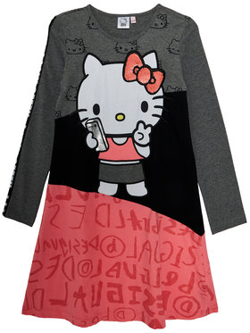 Desigual Desigual Kleid für den Alltag Chicoloapan 20WGVK56 Bunt Regular Fit