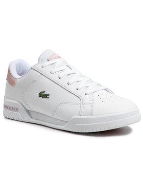 Lacoste Lacoste Sneakersy Twin Sarve 0721 1 Sfa 7-41SFA00671Y9 Biela