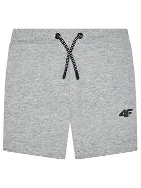 4F 4F Pantaloni scurți sport HJL21-JSKMD001 Gri Regular Fit